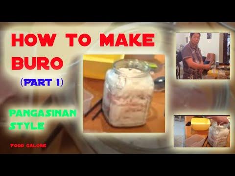 Buro making (part 1)