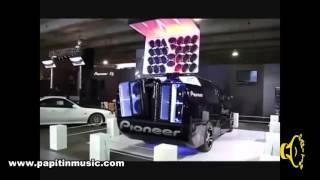 Exhibición  PIONEER Auto Sonido Musica Para Autos Papi Tin