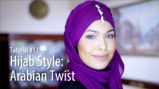 [Adlina Anis] Hijab Tutorial 13 | The Arabian Twist