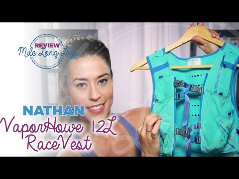 NATHAN VAPORHOWE 12L RACE VEST REVIEW | Mile Long Legs