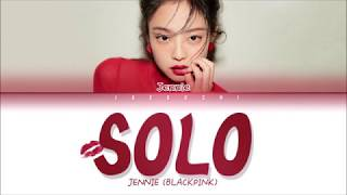 JENNIE (BLACKPINK) - SOLO (Color Coded Lyrics Eng/Rom/Han)