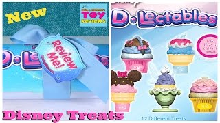 Disney D Lectables Surprise Blind Bags Series 1 Opening Cupcakes Sweet Treats | PSToyReviews