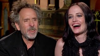Tim Burton & Eva Green Talk Weirdness- Miss Peregrine's Home For Peculiar Children