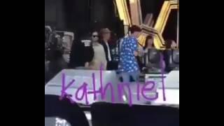 Kathniel behind the scene rehearsal of ASAP ikaw ang sunshine ko
