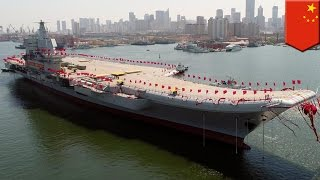 Chinese aircraft carrier: Beijing launches Type 001A, first domestically built carrier - TomoNews