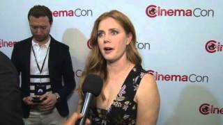 Story of your Life: Amy Adams Exclusive CinemaCon Interview 2016