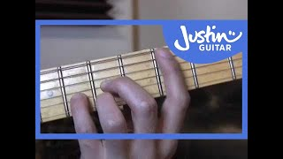 The CAGED System (Guitar Lesson TB-030) How to play