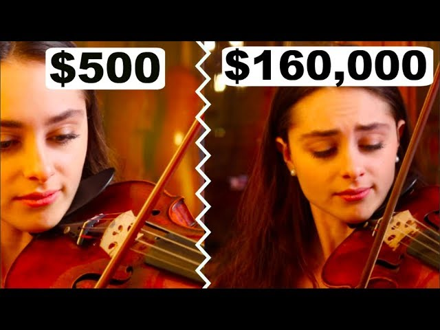 Can you hear the difference between a cheap and expensive violin bow?