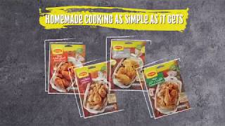 Homemade cooking as simple as it gets.