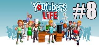 YouTubers Life #8 - YouTuber Simulator! - Learning!