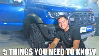 2019 Ford Ranger Raptor| Public Release | Philippines