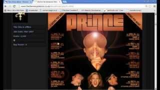 Prince 2013 Illuminati Update - The All Seeing Eye, 33, Shhh & 3rd Eye Girl Backup Singers