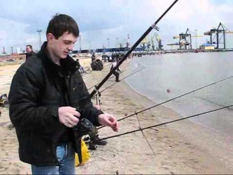 ловля бичка видео