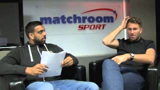 PART TWO - EDDIE HEARN Q & A - WITH KUGAN CASSIUS (APRIL 2015) - INCLUDING TICKET GIVEAWAY / IFL TV
