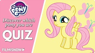 MY LITTLE PONY QUIZ - Discover which pony you are!