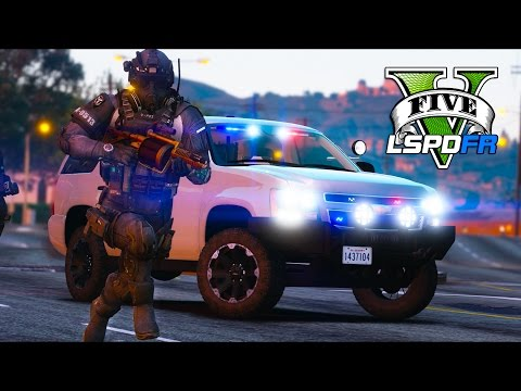GTA 5 - LSPDFR Ep236 - SWAT Mayhem Bad Cop Edition!!