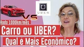 Uber ou Carro? Qual gasta menos?