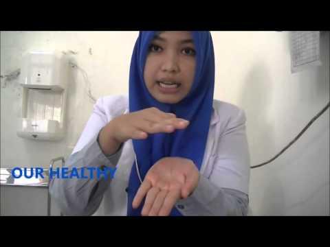 6 Langkah Membersihkan Mencuci Tangan Dengan Menggunakan Cairan Antiseptik