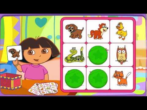 Juego Bingo de Dora