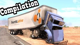 BeamNG Drive - My Best Truck Crash Tests Simulation