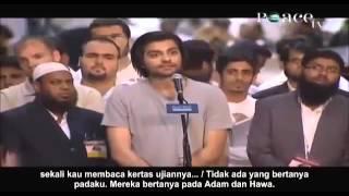 Pertanyaan Sulit Seorang Ateis Berhasil Dijawab Dr  Zakir Naik Subtitle Indonesia