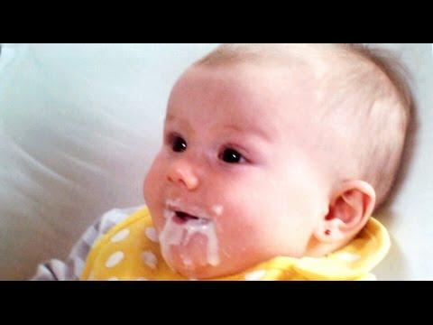Cómo preparar la PAPILLA de FRUTAS del bebé - Alimentación complementaria