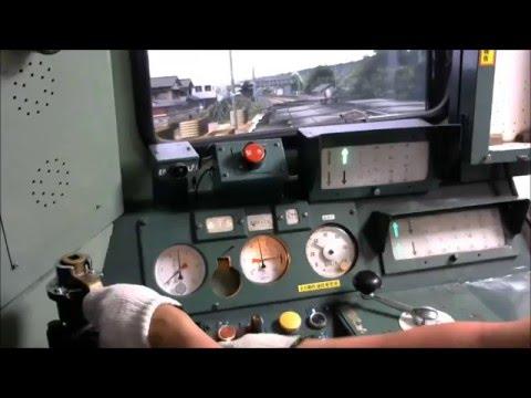 [BVE]DD51運転台  Diesel Locomotive Homemade Simulator