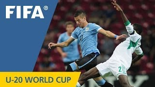 Cool Uruguay see off brave Nigeria