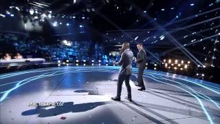 MBC The X Factor -حمزة هوساوي - راغب علامة-احضني أكتر، Suit & Tie-العروض المباشرة