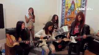Thaha chaina - Gorkhalis Girls Band: Dedicated to Earthquake Victims Nepal