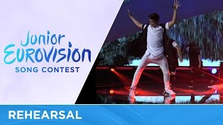 George Michaelides - Dance Floor (Cyprus)  Rehearsal Junior Eurovision 2016