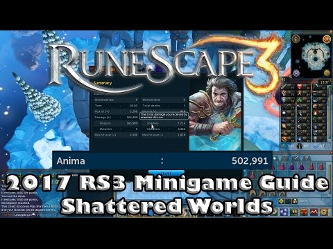 RS3 Minigame Guide #1 - Shattered Worlds - Rewards and Walkthrough!