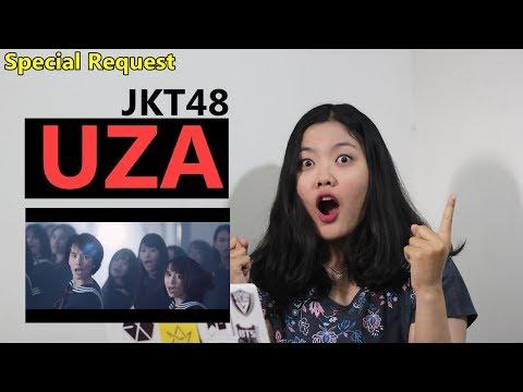 Lagu Tersulit JKT48 !!!! UZA MV Reaction Indonesia