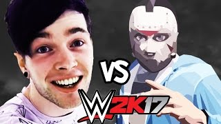 DanTDM vs H2O Delirious | WWE 2K17 Youtuber Tournament Semi-Final