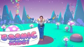 Cracker The Dragon Of Wonder | A Cosmic Kids Yoga Adventure!