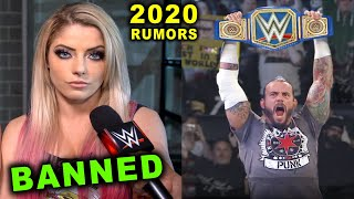 10 Shocking WWE Rumors for 2020 - CM Punk Wins Universal Title