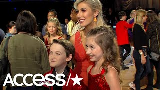 'DWTS: Juniors': Jason Maybaum & Elliana Walmsley Just 'Want To Have Fun & Dance Their Hearts Out'