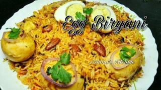 Egg Biryani    recipe in Hindi/Urdu    Ashma's Kitchen