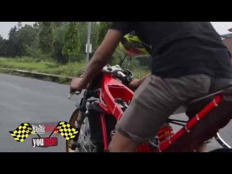 2015 Drag bike Vp mboted SETTING kawasaki ninja 155 tu C SQUAD Creampie Jogja
