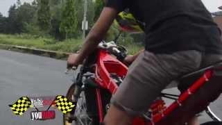 2015 Drag bike | Vp mboted SETTING kawasaki ninja 155 tu C-SQUAD Creampie Jogja