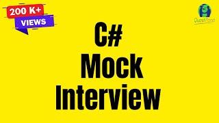 C# (Csharp) /.NET mock interview