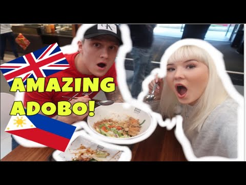 Filipino Adobo in London British couples first taste