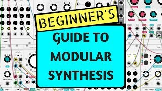 How To Make A Synth Patch - Beginner Tutorial on Modular Synthesis using VCV RACK (FREE SOFTWARE)