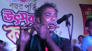 Jalal Ahmed The Great Flute player In Bangladesh & Sub-Continent   Live Performance wth Bamboo Flute
