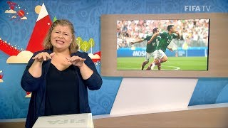 FIFA WC 2018 - GER vs. MEX – for Deaf and Hard of Hearing - International Sign