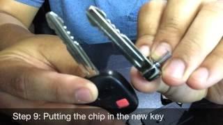 Converting FJ Key to Flip Key