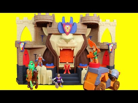 Xxx Mp4 Imaginext Fisher Price Lion S Den Castle Knights Battle Ninja Warriors DC Slade 3gp Sex