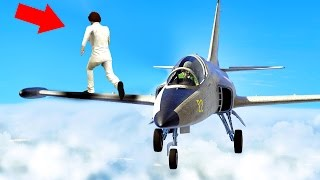 CATCH THE SNIPERS WITH JETS! (GTA 5 Funny Moments)