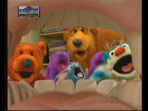 Escovar os dentes Urso da Casa Azul