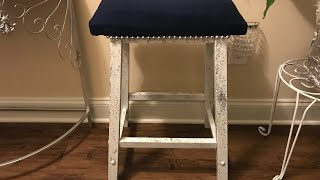 DIY Bar stool Revamp